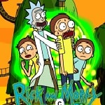 Rick and Morty arcade game