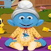 The Smurfs Baby Bathing Friv.com